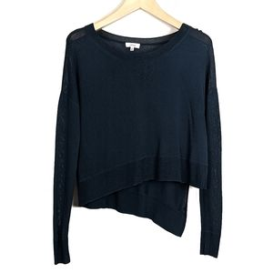 Aritzia Wilfred Librement Asymmetrical Sweater